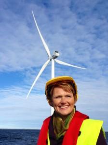 Kårehamns vindkraftpark till havs.