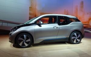 Supermiljöbil - BMW-i3-Side